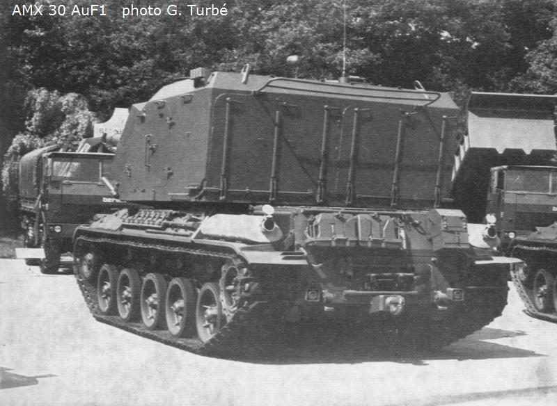 Canon automoteur de 155mm Au F1 sur châssis AMX 30 Réf 81129 Image_37