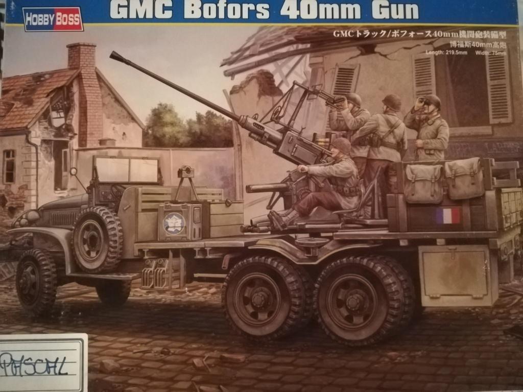 Camion GMC équipé d'un canon de 40 m/m Bofors - marque HOBY BOSS - échelle 1/35 TERMINE. Img_2092