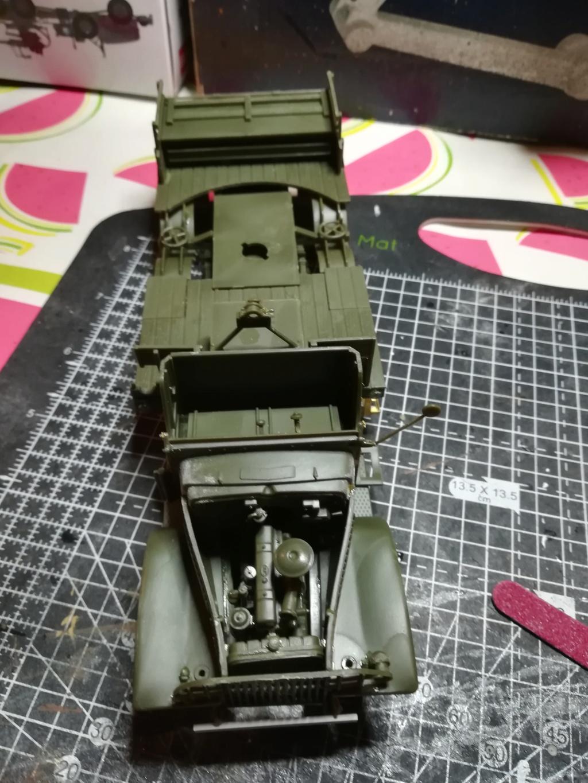 Camion GMC équipé d'un canon de 40 m/m Bofors - marque HOBY BOSS - échelle 1/35 TERMINE. Img_2096
