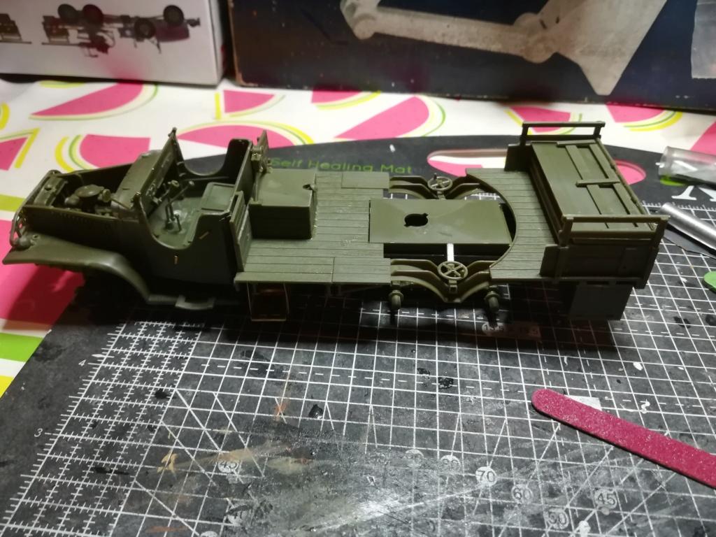 Camion GMC équipé d'un canon de 40 m/m Bofors - marque HOBY BOSS - échelle 1/35 TERMINE. Img_2097