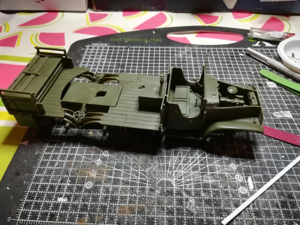 Camion GMC équipé d'un canon de 40 m/m Bofors - marque HOBY BOSS - échelle 1/35 TERMINE. Img_2098