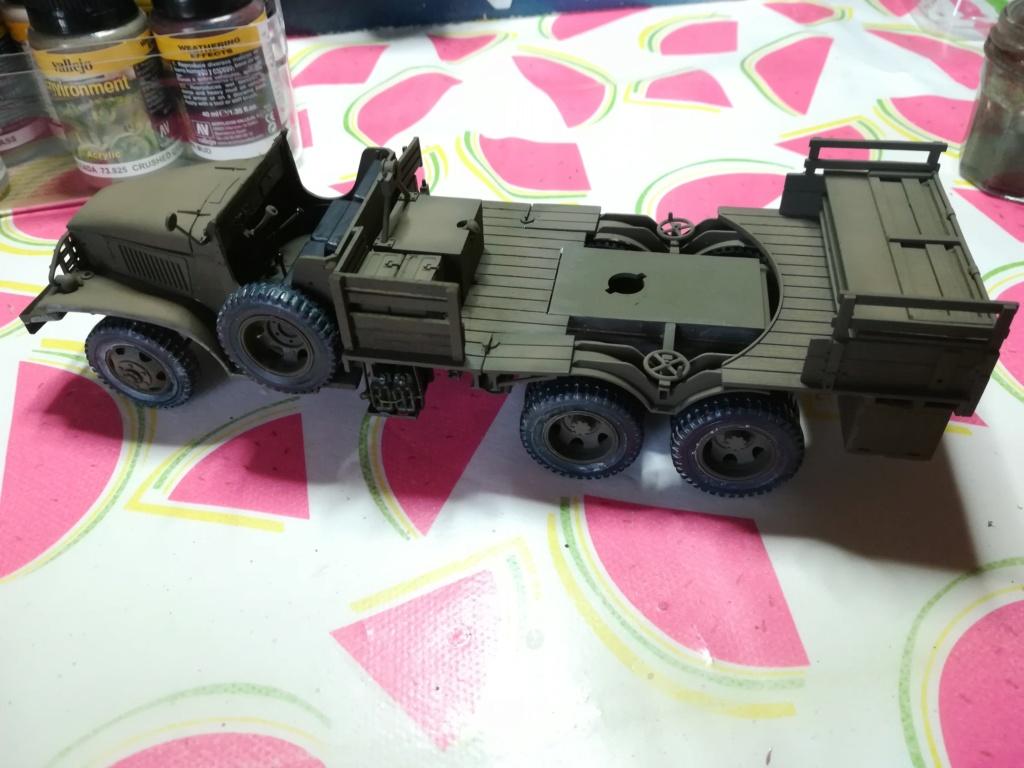 Camion GMC équipé d'un canon de 40 m/m Bofors - marque HOBY BOSS - échelle 1/35 TERMINE. Img_2122