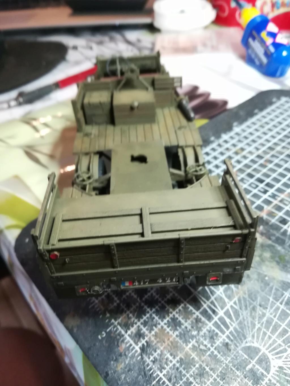 Camion GMC équipé d'un canon de 40 m/m Bofors - marque HOBY BOSS - échelle 1/35 TERMINE. - Page 2 Img_2131