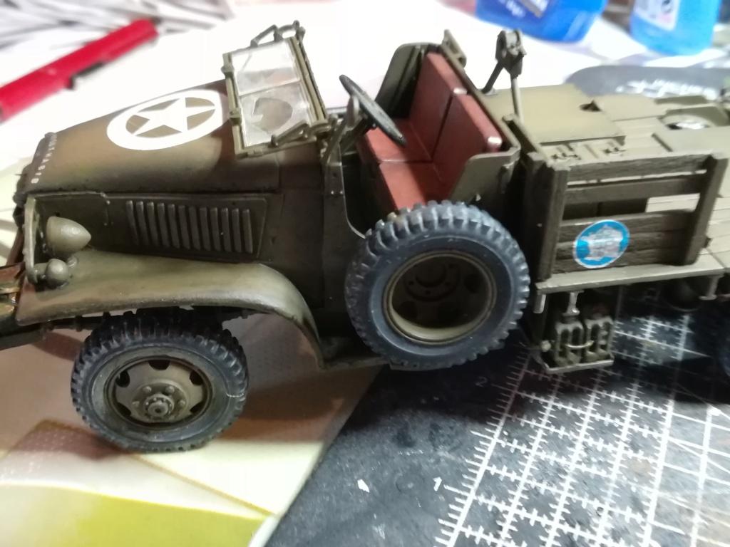 Camion GMC équipé d'un canon de 40 m/m Bofors - marque HOBY BOSS - échelle 1/35 TERMINE. - Page 2 Img_2136