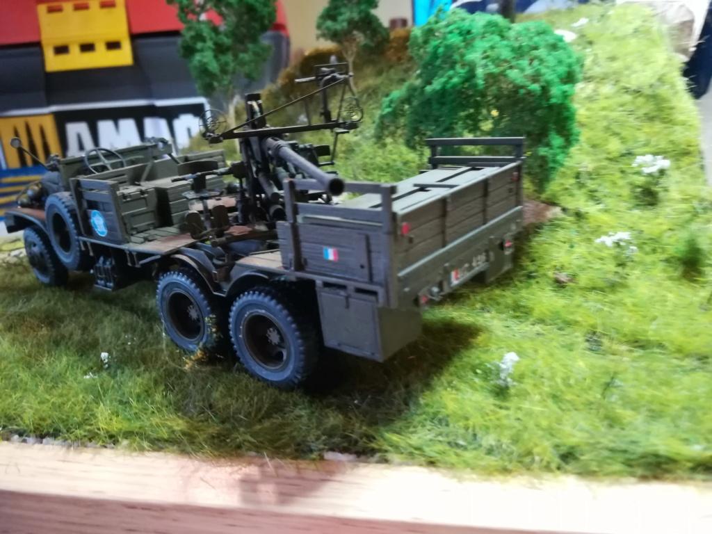Camion GMC équipé d'un canon de 40 m/m Bofors - marque HOBY BOSS - échelle 1/35 TERMINE. - Page 2 Img_2155