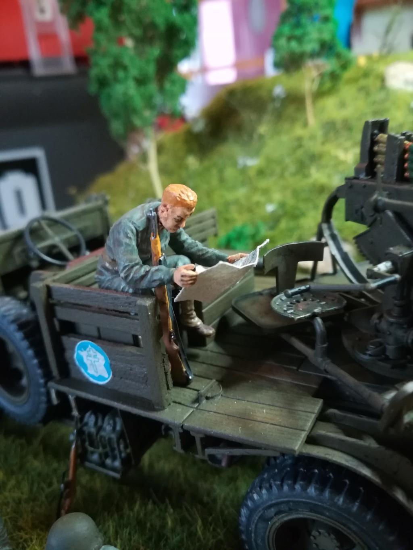 Camion GMC équipé d'un canon de 40 m/m Bofors - marque HOBY BOSS - échelle 1/35 TERMINE. - Page 2 Img_2164