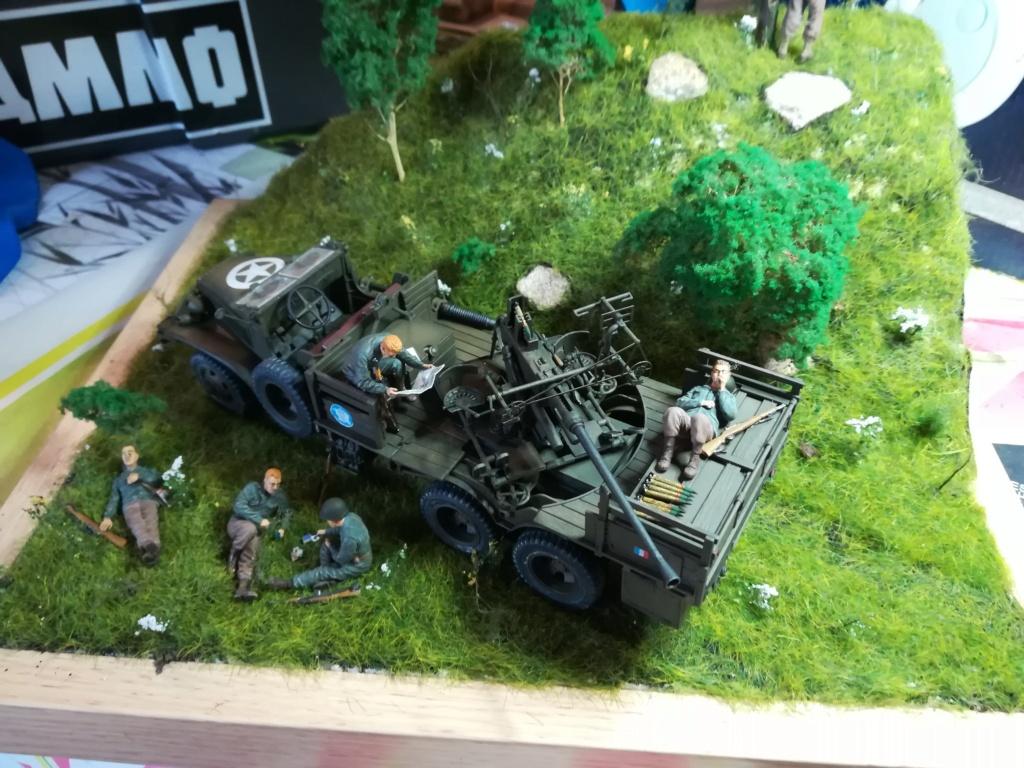 Camion GMC équipé d'un canon de 40 m/m Bofors - marque HOBY BOSS - échelle 1/35 TERMINE. - Page 2 Img_2168