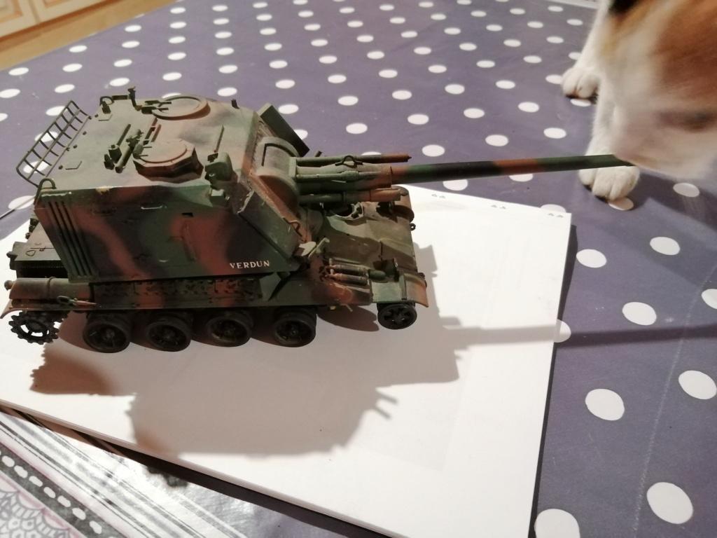 Canon automoteur de 155mm Au F1 sur châssis AMX 30 Réf 81129 Img_2292
