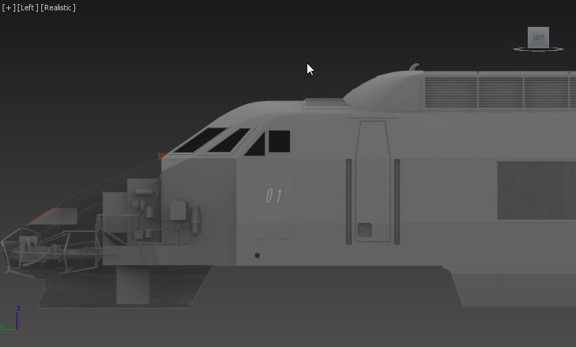 New renderer vs some trains 3dsmax10