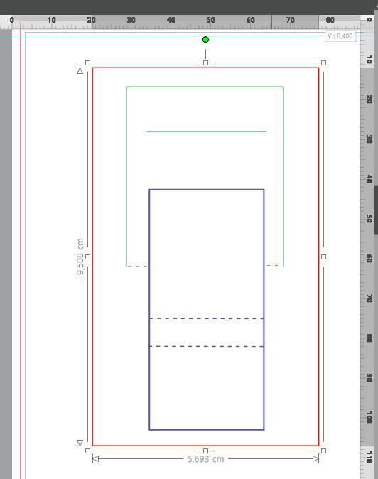 Gabarit invitation en forme de chaise + découpe par type de lignes Chaise15