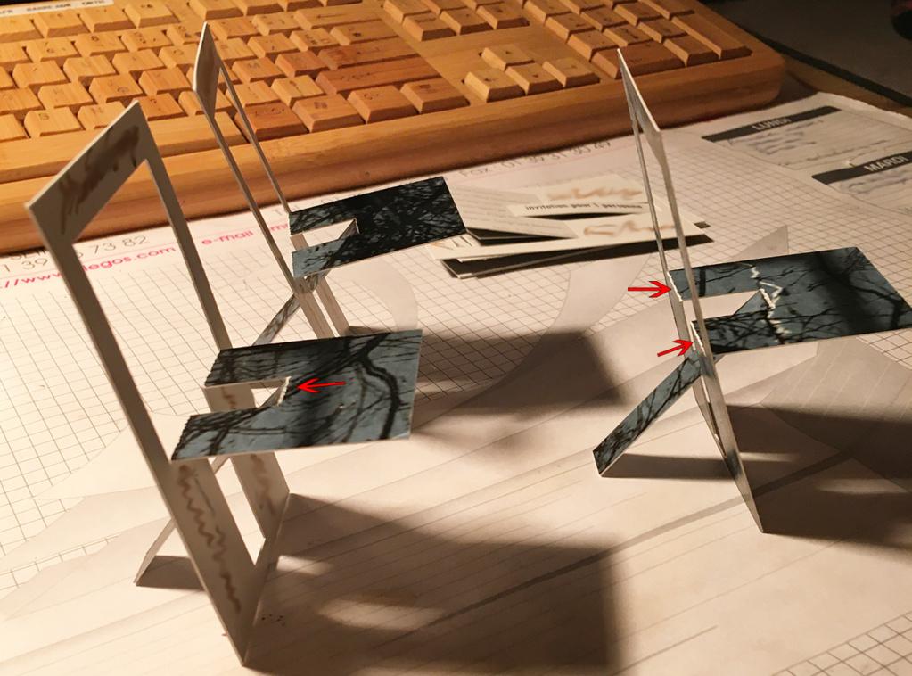 Gabarit invitation en forme de chaise + découpe par type de lignes Invita11