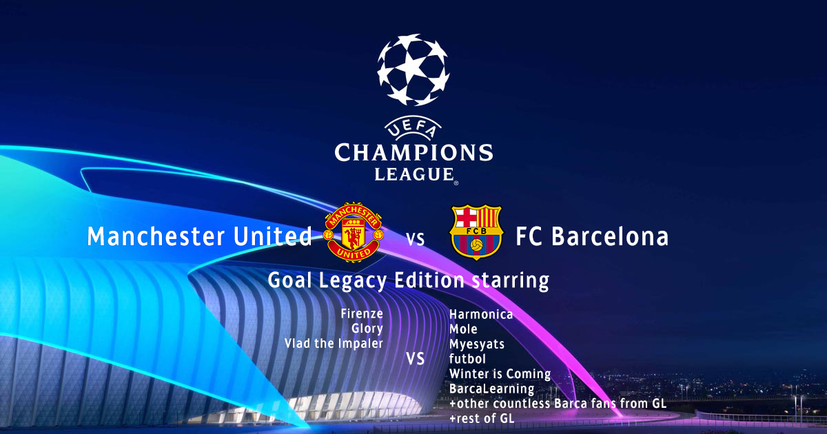 Who will qualify to the semi-finals? Manchester United or FC Barcelona Gl_man10