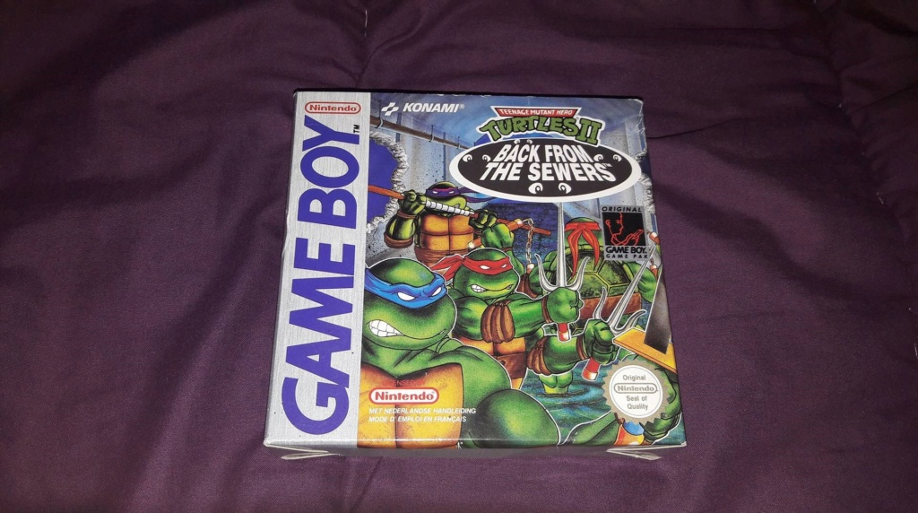 [VDS] [ECH] Turtles II Back from the Sewers Game Boy FAH complet 38764110