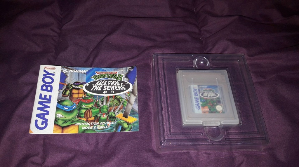 [VDS] [ECH] Turtles II Back from the Sewers Game Boy FAH complet 38776610