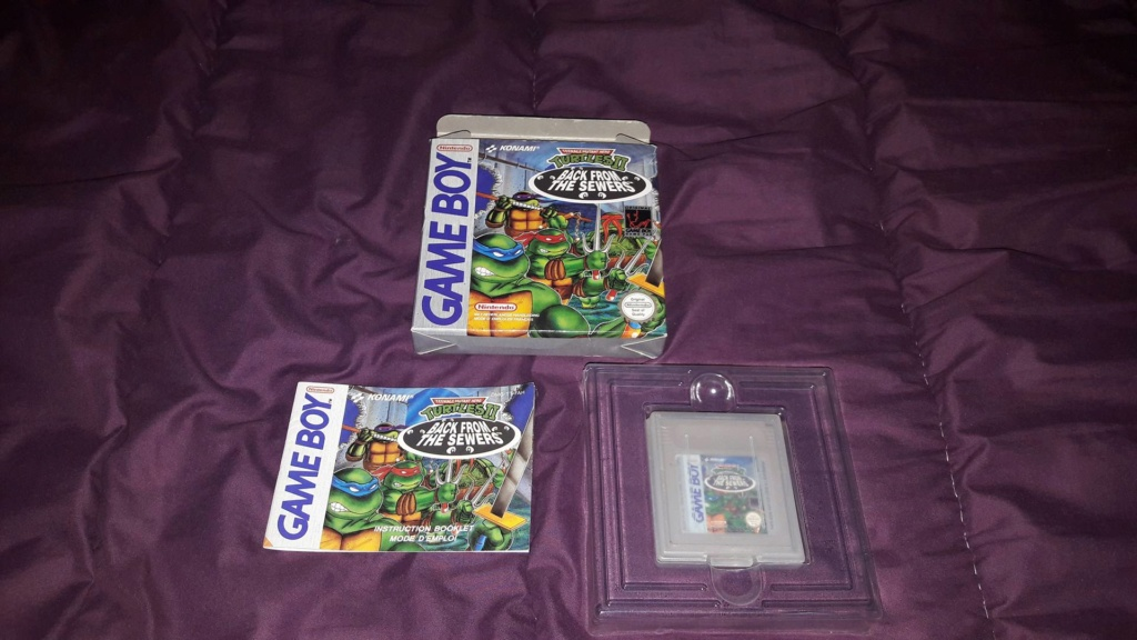 [VDS] [ECH] Turtles II Back from the Sewers Game Boy FAH complet 38778010