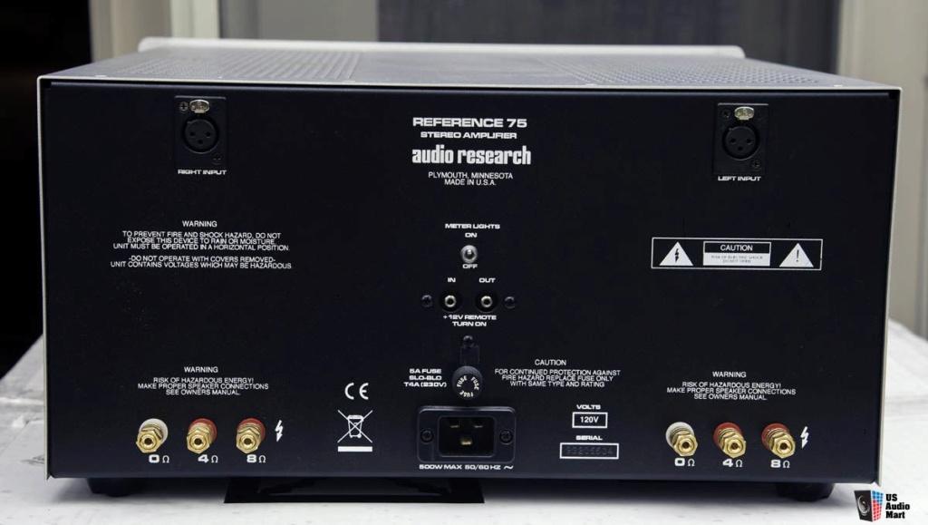 Audio Research  pre & poweramp 22557310