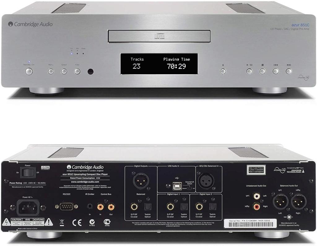 cambridge audio azur 851C cd player 71fsmt10