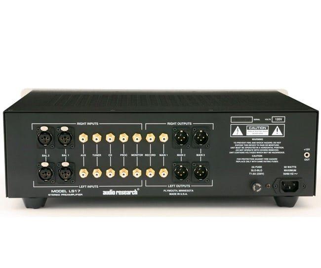 Audio Research  pre & poweramp Audio-11
