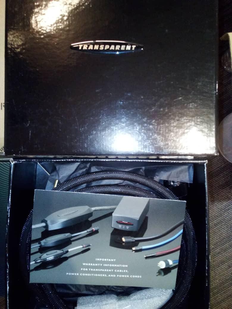 Transparent Premium Powerlink Ac Powercord( sold) C7042310