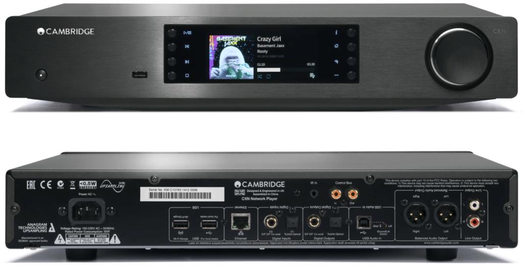 Cambridge audio cxnv2 lunar grey music streamer  Cambri17
