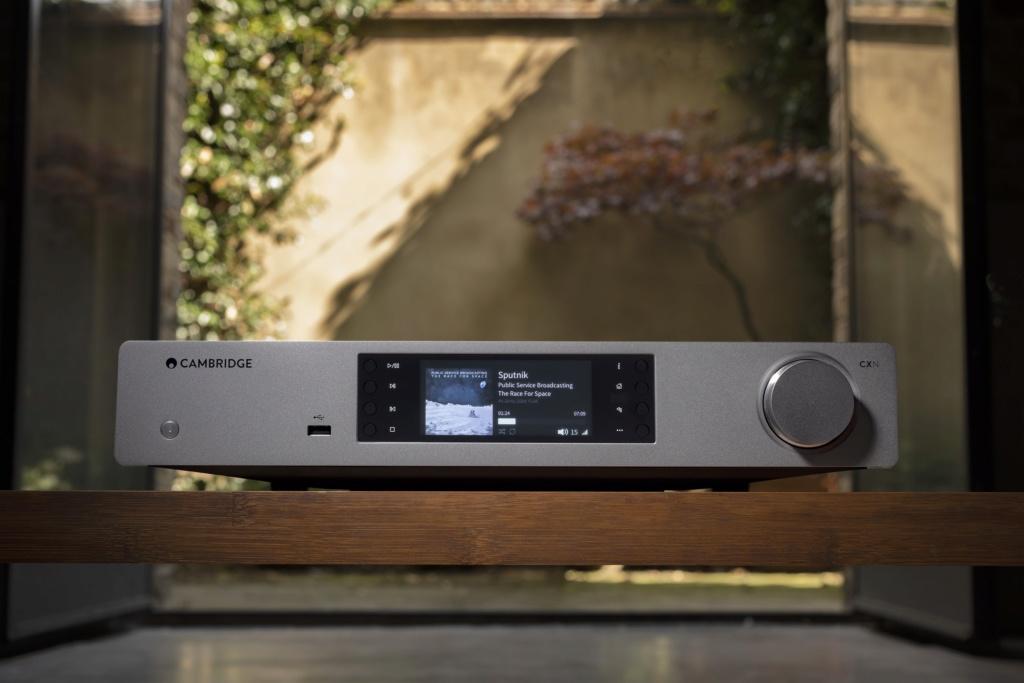 Cambridge audio cxnv2 lunar grey music streamer  Cambri18