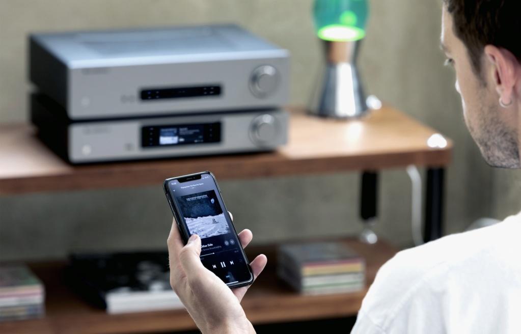 Cambridge audio cxnv2 lunar grey music streamer  Cambri20