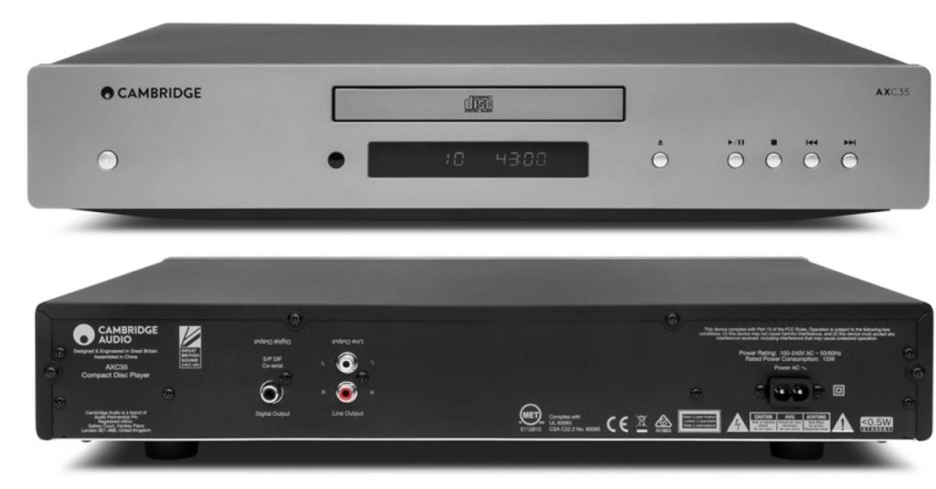 cambridge audio AXC35 cd player Cambri31