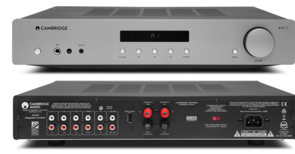 cambridge audio AXA 35 cd integrated amplifier Cambri33