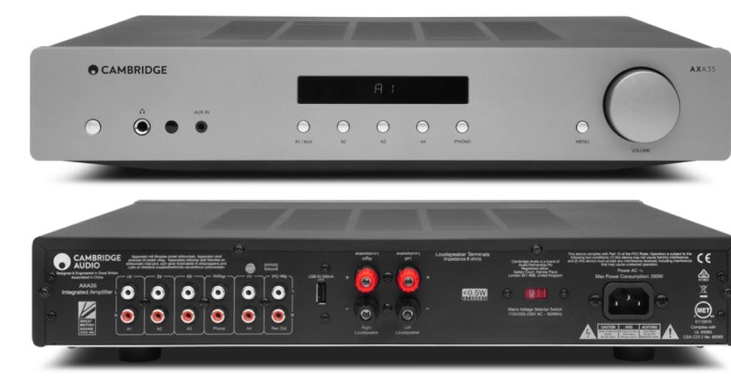 cambridge audio axa35 stereo amplifier with phono input Cambri33