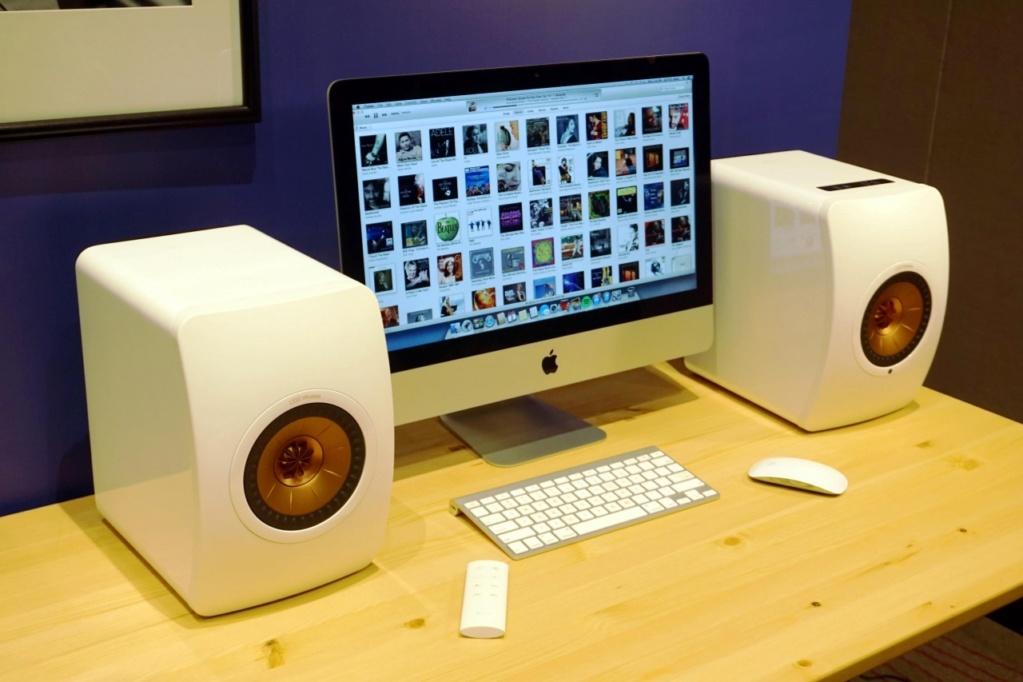 Kef LS50 wireless powered speaker F0dbc910