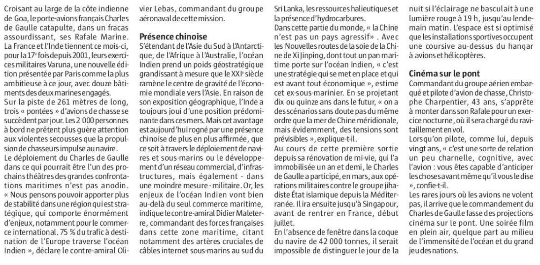 [ Porte-Avions Nucléaire ] Charles De Gaulle Tome 3 - Page 25 Cdc10