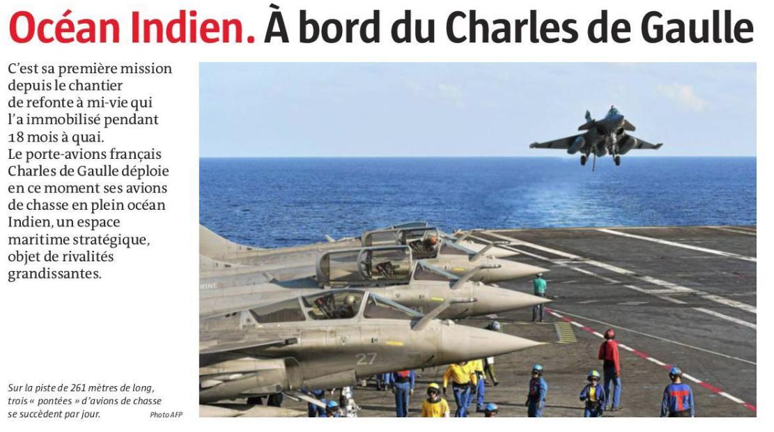[ Porte-Avions Nucléaire ] Charles De Gaulle Tome 3 - Page 25 Cdc110