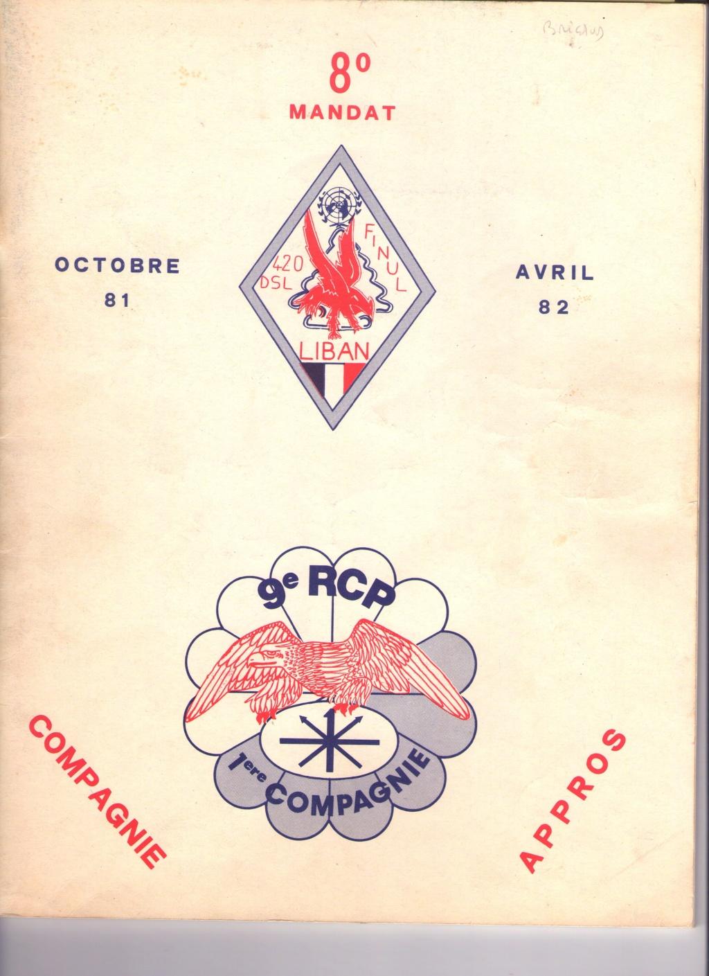 Remise de fourragères a Belesta (09) en 1983  Img11611