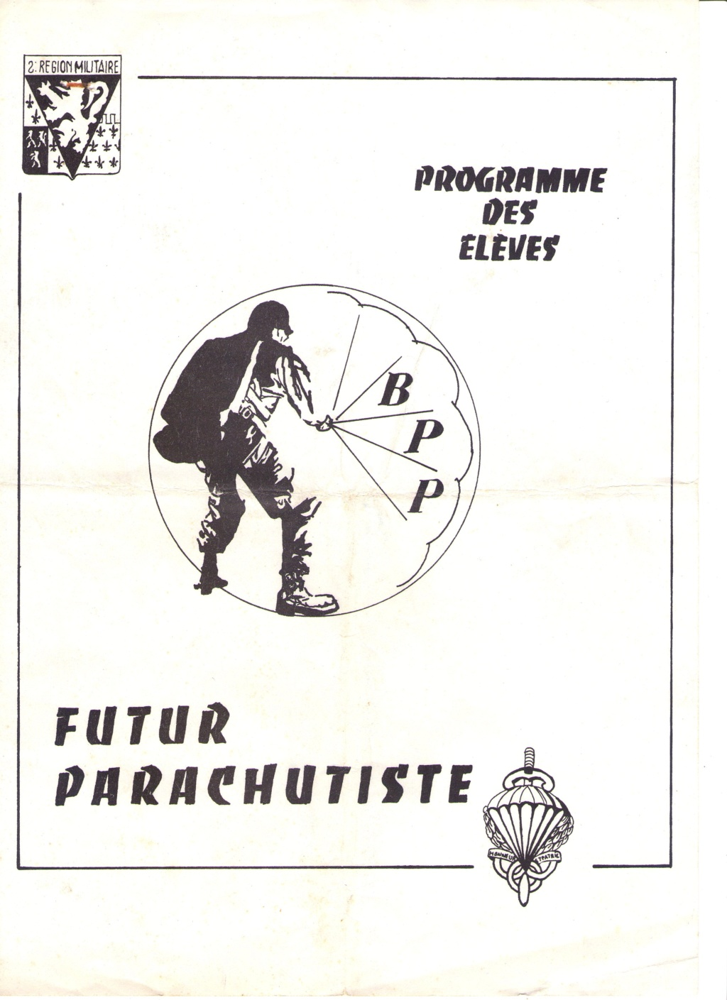 Livret PM para en 1980 Beauvais Evreux   Img17812