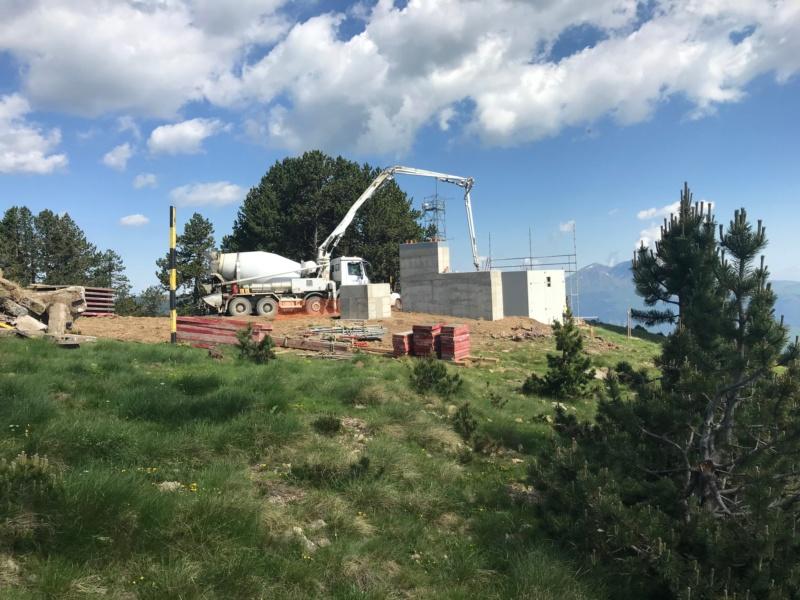 Construction télésiège fixe 4 places Bisorne (TSF4) - LST, Ax 3 Domaines Img_7415