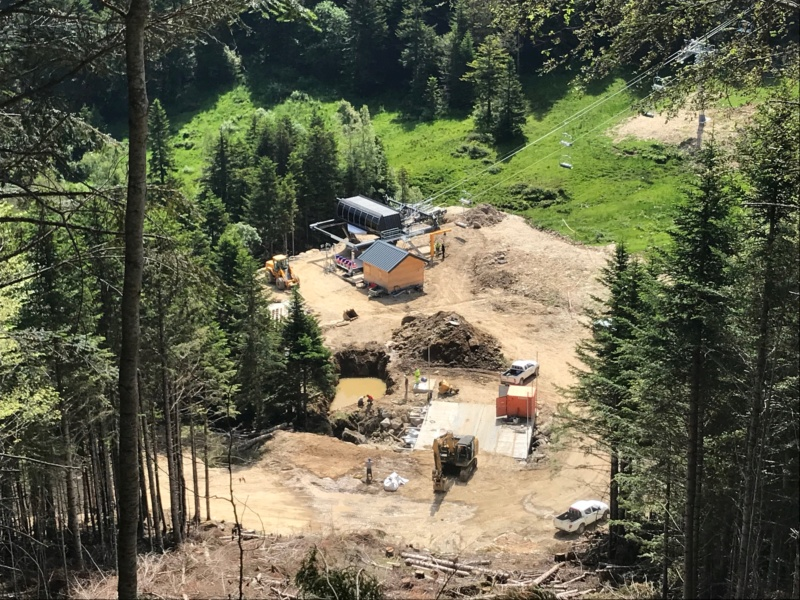 Construction télésiège fixe 4 places Bisorne (TSF4) - LST, Ax 3 Domaines Img_7419