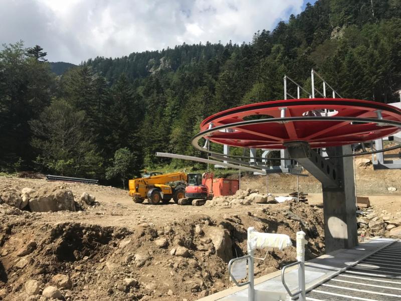 Construction télésiège fixe 4 places Bisorne (TSF4) - LST, Ax 3 Domaines Img_7713