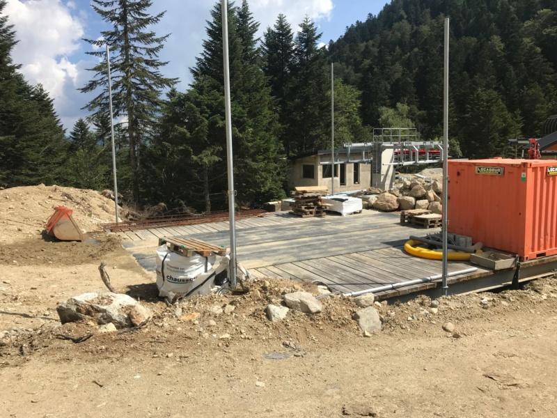 Construction télésiège fixe 4 places Bisorne (TSF4) - LST, Ax 3 Domaines Img_7815