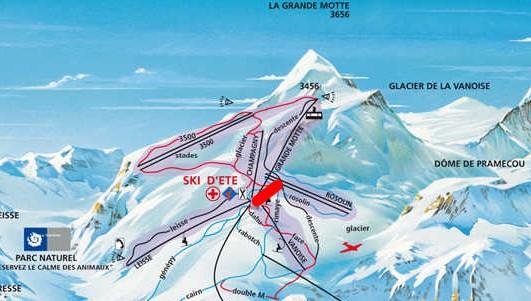 Télésiège fixe 3 places (TSF3) Panoramic Tignes11