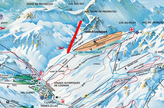 Télésiège fixe 3 places (TSF3) Col des Vés Tignes13