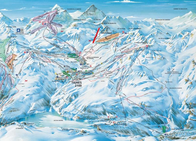Télésiège fixe 3 places (TSF3) Col des Vés Tignes14