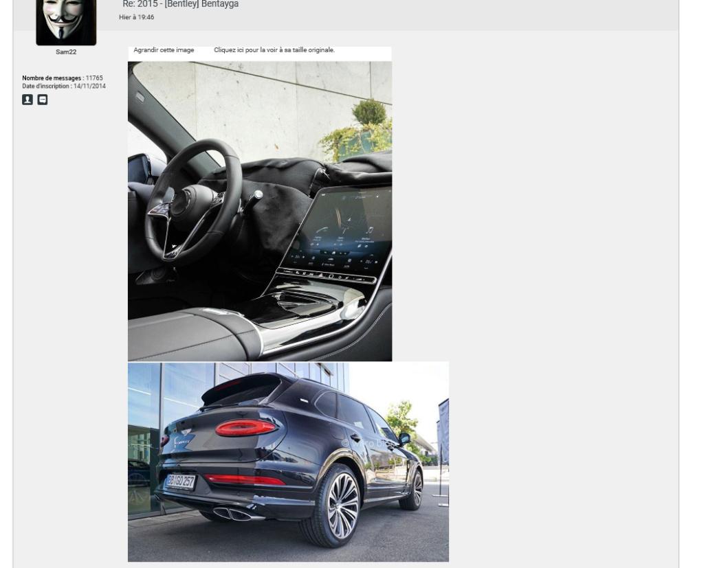 2015 - [Bentley] Bentayga - Page 15 Sam10