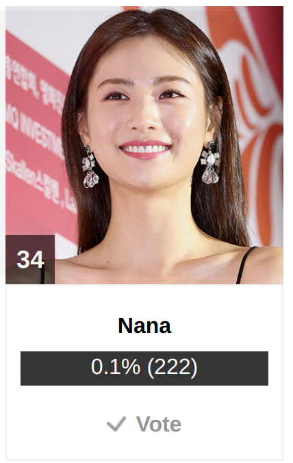 [DISCUSSION]How to Vote for Nana in AAA 2018 00710