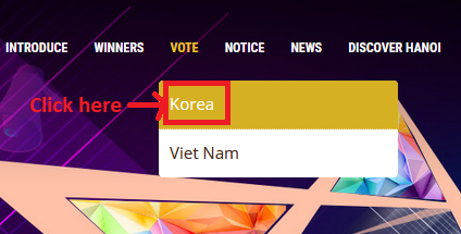 [PROJECT]Vote for Nana in AAA Vietnam 611