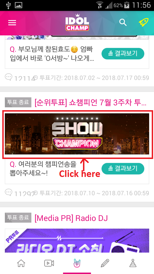 [DISCUSSION] How to Vote for Raina on Show Champion 810