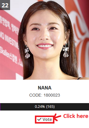 [PROJECT]Vote for Nana in AAA Vietnam 811