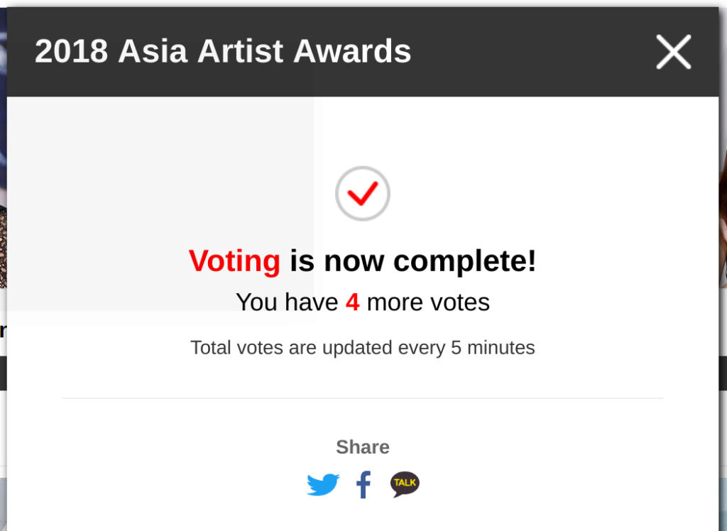 [DISCUSSION]How to Vote for Nana in AAA 2018 V00110
