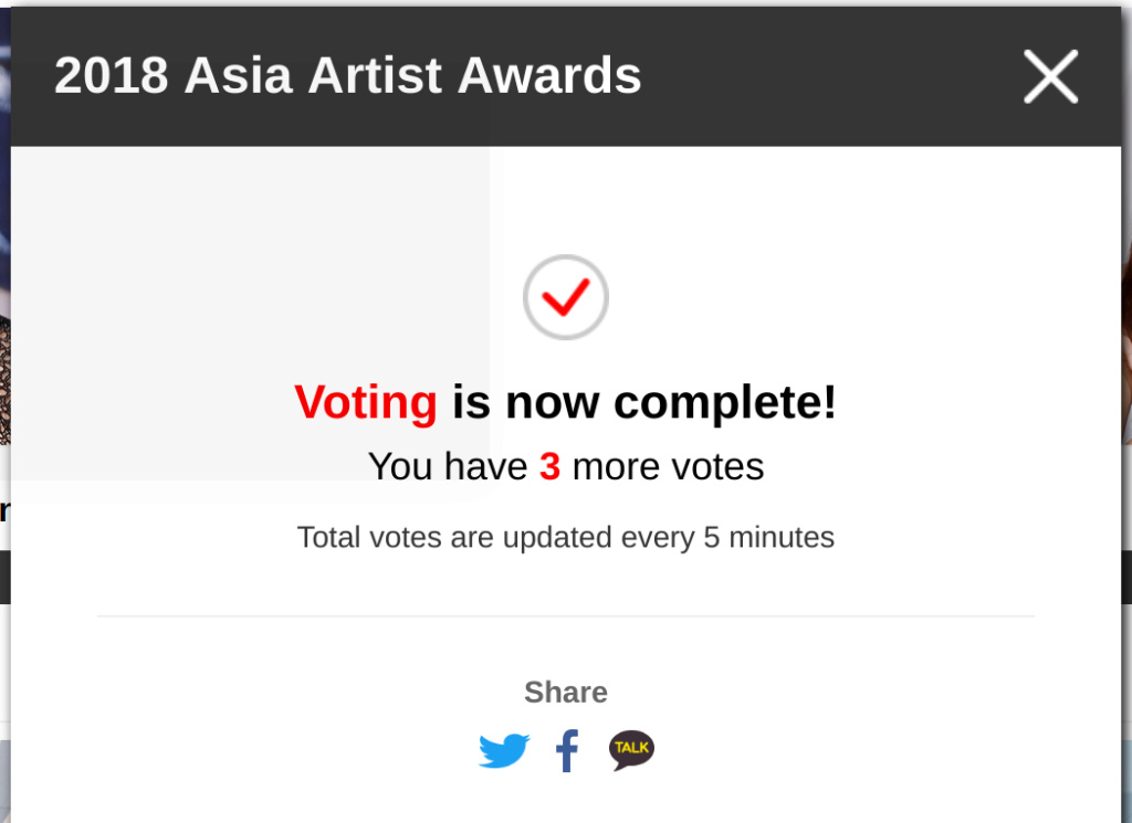 [DISCUSSION]How to Vote for Nana in AAA 2018 V00210