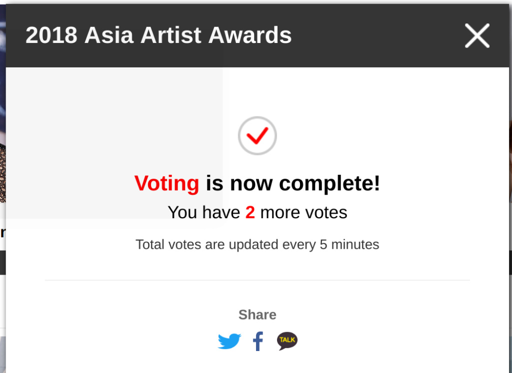 [DISCUSSION]How to Vote for Nana in AAA 2018 V00310