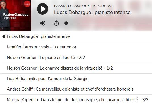 Radio Classique Scree500